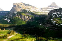 Going to the Sun  Road : Glacier National Park